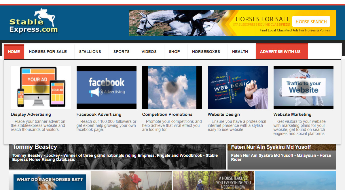 Horse websites
